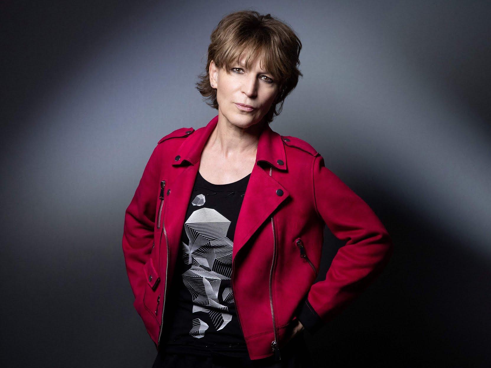 Agnès Callamard, die neue internationale Generalsekretärin von Amnesty International, erläuterte den Jahresbericht der Organisation